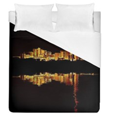 Waste Incineration Incinerator Duvet Cover (queen Size) by Simbadda