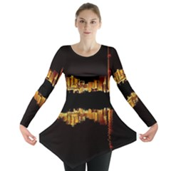 Waste Incineration Incinerator Long Sleeve Tunic  by Simbadda