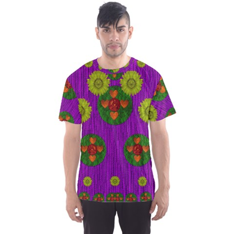 Buddha Blessings Fantasy Men s Sport Mesh Tee by pepitasart