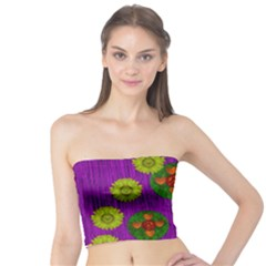Buddha Blessings Fantasy Tube Top by pepitasart