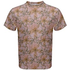 Nature Collage Print Men s Cotton Tee by dflcprintsclothing