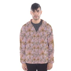 Nature Collage Print Hooded Wind Breaker (men) by dflcprintsclothing