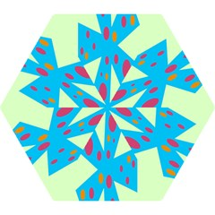 Starburst Shapes Large Circle Green Blue Red Orange Circle Mini Folding Umbrellas by Alisyart