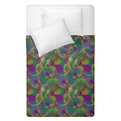 Pattern Abstract Paisley Swirls Duvet Cover Double Side (single Size) by Simbadda