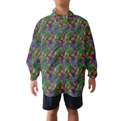 Pattern Abstract Paisley Swirls Wind Breaker (kids) by Simbadda