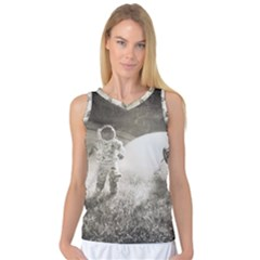 Astronaut Space Travel Space Women s Basketball Tank Top