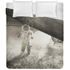 Astronaut Space Travel Space Duvet Cover Double Side (california King Size)