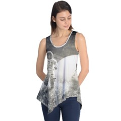 Astronaut Space Travel Space Sleeveless Tunic
