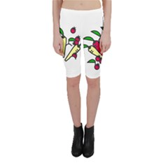 Tomatoes Carrots Cropped Leggings