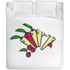 Tomatoes Carrots Duvet Cover (california King Size) by Alisyart