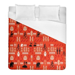 Traditional Wayang Duvet Cover (full/ Double Size) by Alisyart