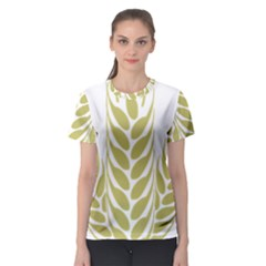 Tree Wheat Women s Sport Mesh Tee by Alisyart