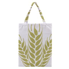 Tree Wheat Classic Tote Bag by Alisyart