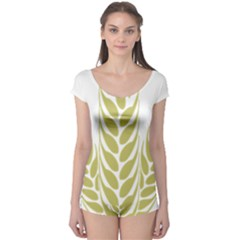 Tree Wheat Boyleg Leotard