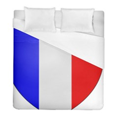 Shield On The French Senate Entrance Duvet Cover (full/ Double Size) by abbeyz71