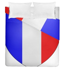 Shield On The French Senate Entrance Duvet Cover Double Side (queen Size) by abbeyz71