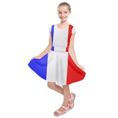 Shield On The French Senate Entrance Kids  Short Sleeve Dress by abbeyz71