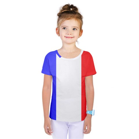 Shield On The French Senate Entrance Kids  One Piece Tee by abbeyz71