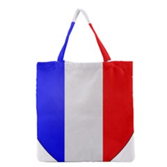 Shield On The French Senate Entrance Grocery Tote Bag by abbeyz71