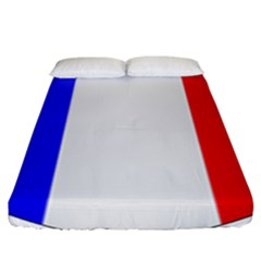 Shield On The French Senate Entrance Fitted Sheet (king Size) by abbeyz71