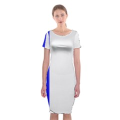 Shield On The French Senate Entrance Classic Short Sleeve Midi Dress by abbeyz71