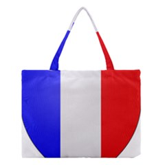Shield On The French Senate Entrance Medium Tote Bag by abbeyz71
