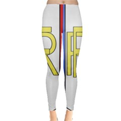 Semi-official Shield Of France Leggings  by abbeyz71
