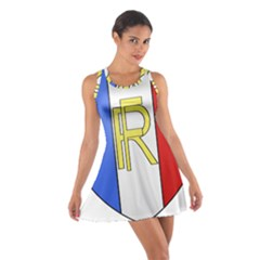 Semi-official Shield Of France Cotton Racerback Dress by abbeyz71