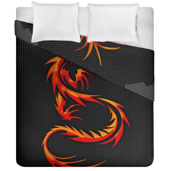 Dragon Duvet Cover Double Side (California King Size)