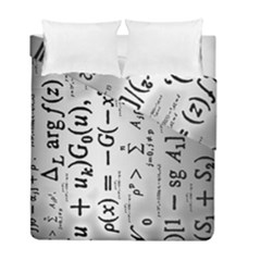 Science Formulas Duvet Cover Double Side (full/ Double Size) by Simbadda