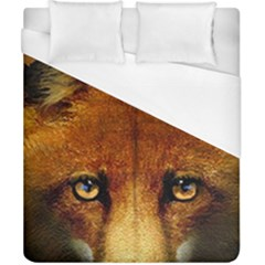Fox Duvet Cover (california King Size) by Simbadda