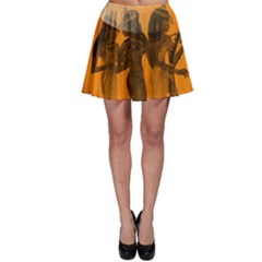 Maps Egypt Skater Skirt by Simbadda