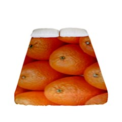 Orange Fruit Fitted Sheet (full/ Double Size)