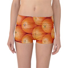 Orange Fruit Reversible Bikini Bottoms