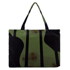 Fractal Prison Medium Zipper Tote Bag by Simbadda