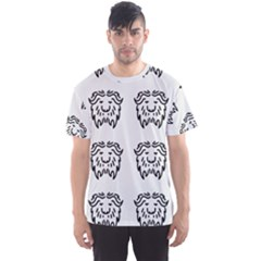 Animal Bison Grey Wild Men s Sport Mesh Tee by Alisyart