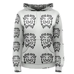 Animal Bison Grey Wild Women s Pullover Hoodie