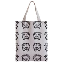 Animal Bison Grey Wild Zipper Classic Tote Bag by Alisyart