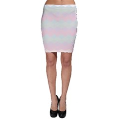 Argyle Triangle Plaid Blue Pink Red Blue Orange Bodycon Skirt
