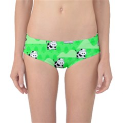Animals Cow Home Sweet Tree Green Classic Bikini Bottoms by Alisyart