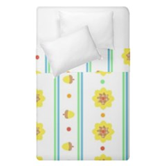 Beans Flower Floral Yellow Duvet Cover Double Side (single Size) by Alisyart