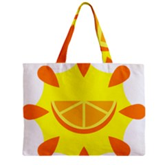 Citrus Cutie Request Orange Limes Yellow Zipper Mini Tote Bag by Alisyart