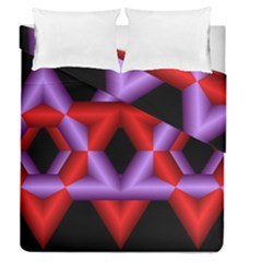 Star Of David Duvet Cover Double Side (queen Size)