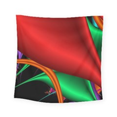 Fractal Construction Square Tapestry (small) by Simbadda