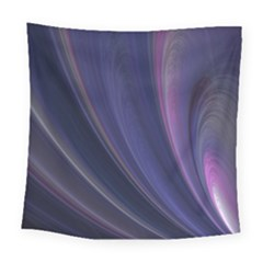 Purple Fractal Square Tapestry (large)