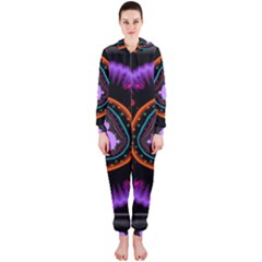 Hypocloid Hooded Jumpsuit (ladies)  by Simbadda