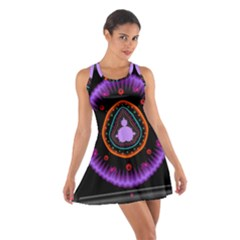 Hypocloid Cotton Racerback Dress