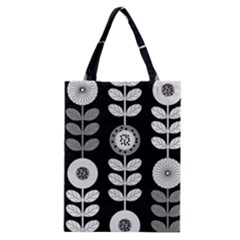 Floral Pattern Seamless Background Classic Tote Bag
