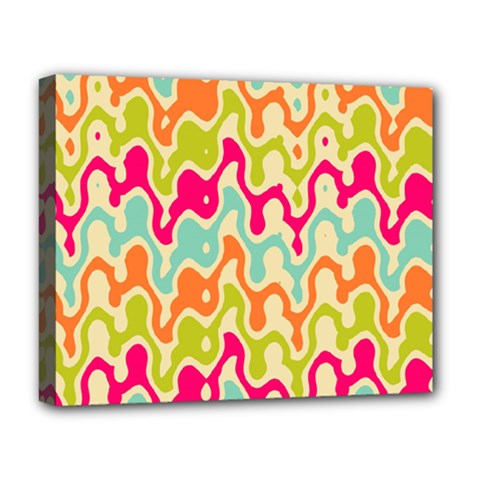Abstract Pattern Colorful Wallpaper Deluxe Canvas 20  X 16   by Simbadda