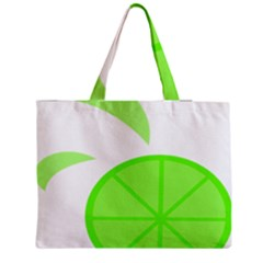 Fruit Lime Green Medium Tote Bag